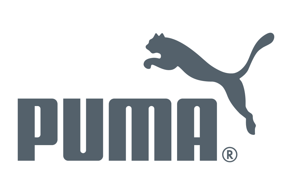 Puma Logo in grey color