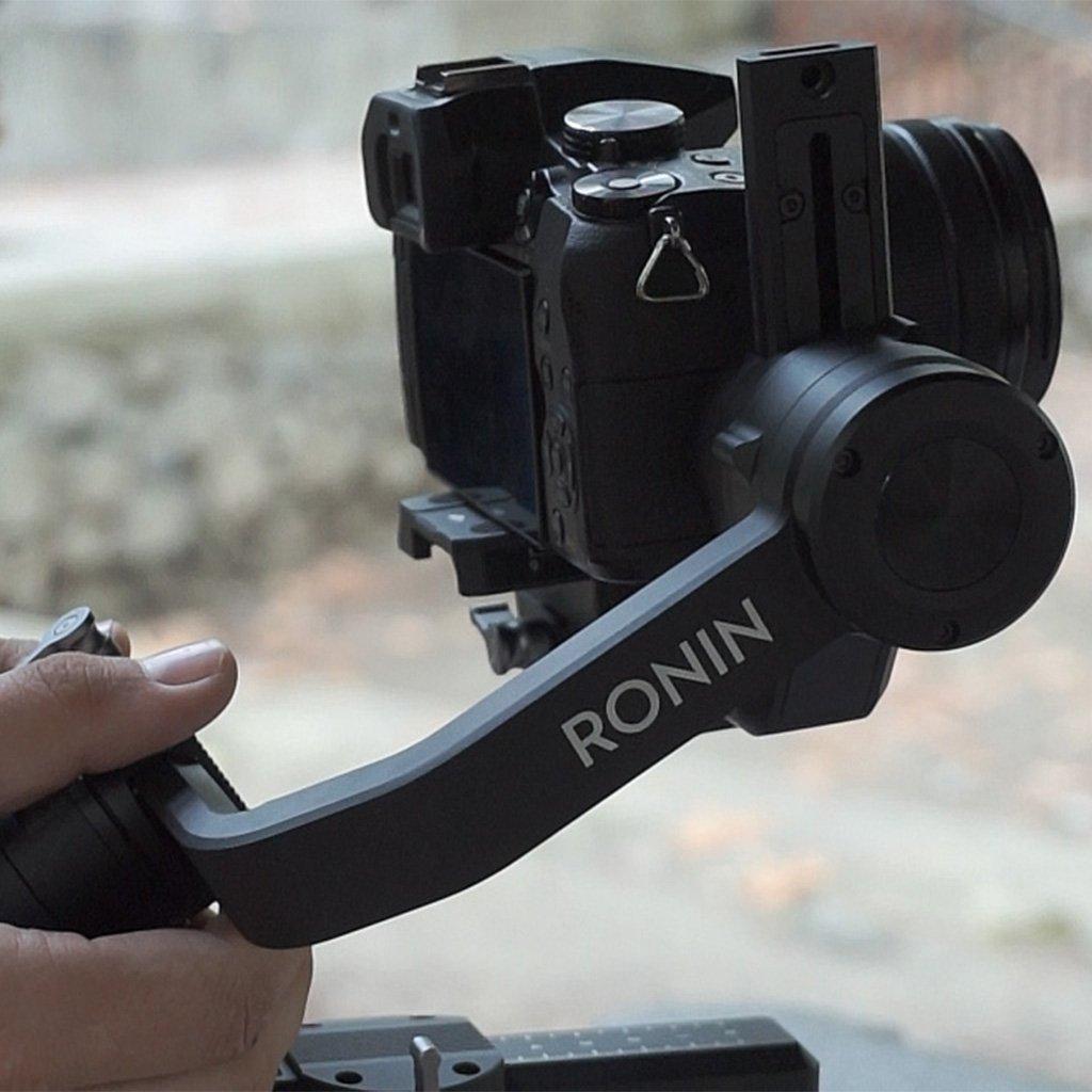 Camera with gimbal
