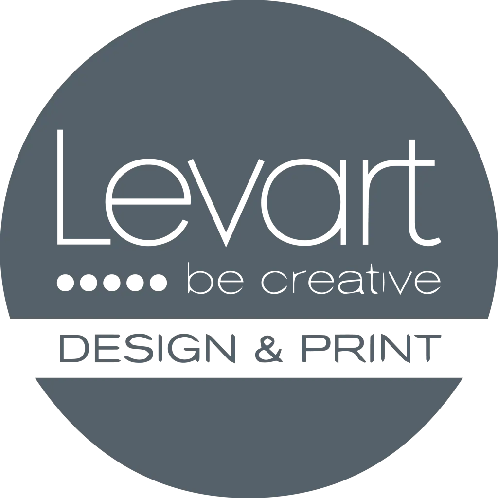 Levart logo in grey