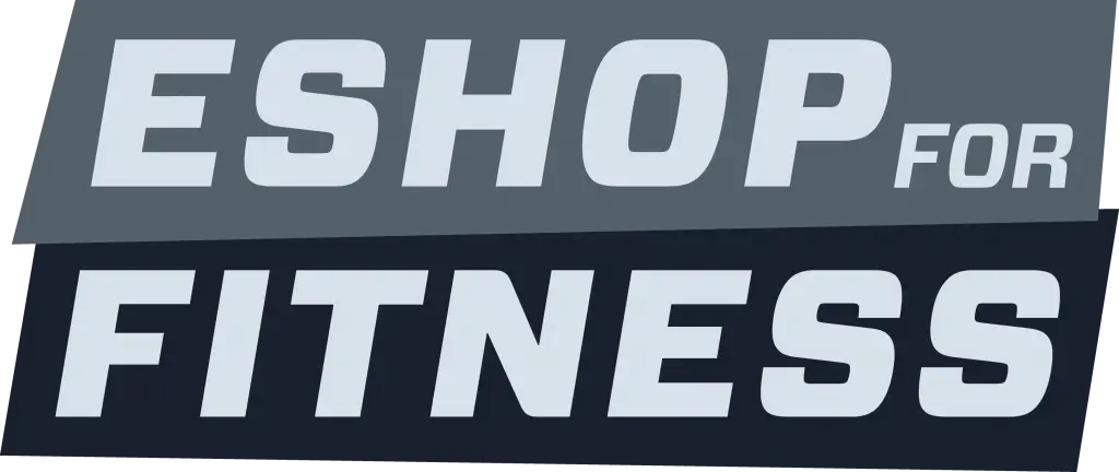 eshop for fitness logo in grey