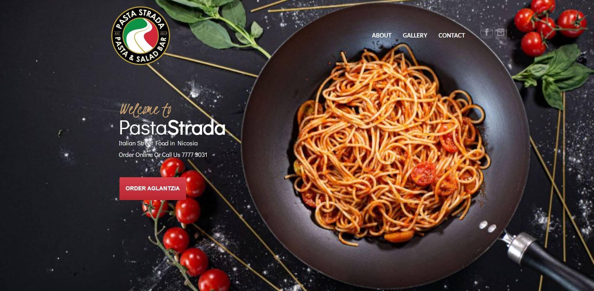 Pasta Strada Website